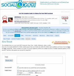 Tips, e-marketing, business, Socialoomph, Tweetlater, Twitter, Tools, Productivity, Free