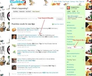 Twitter, SEO, Tips